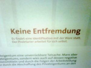 Inschrift Marx-Haus Trier